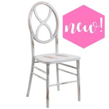 Sandglass White-Wash Chair