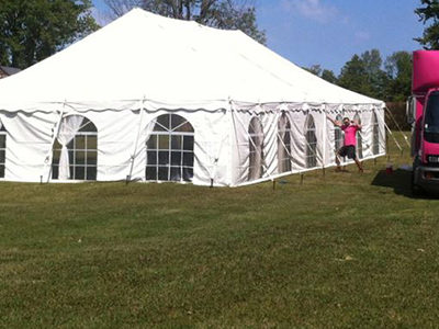Now Hiring Summer Tent Installers